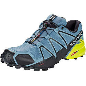 Salomon Speedcross 4 Shoes Men bluestone/black/sulphur spring